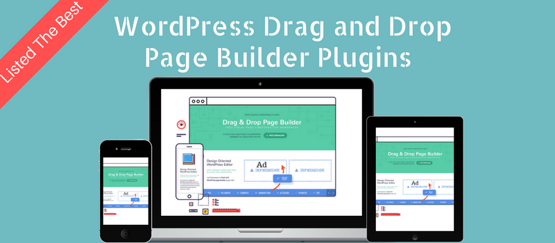 5 Best WordPress Drag and Drop Page Builders
