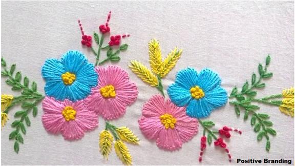 Skills Of Embroidery Fashion